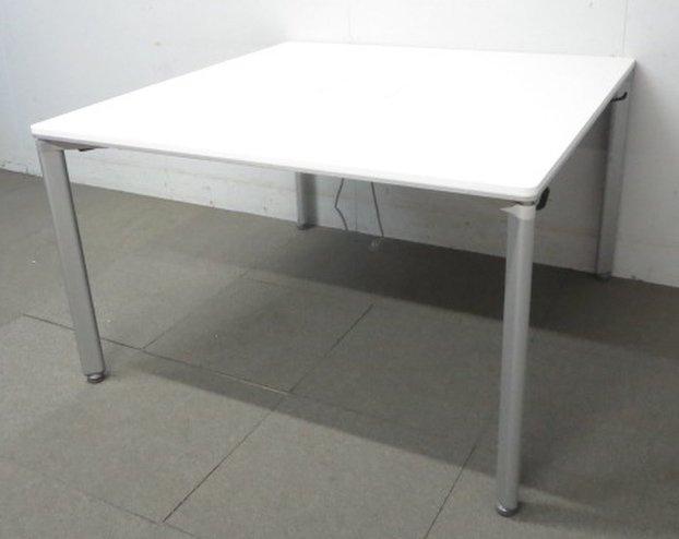 【これぞ次世代のワークスタイル!】■コクヨ製 ワークテーブル W1200mm ホワイト