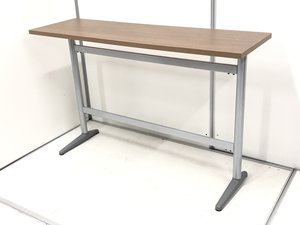 珍しいハイカウンターテーブル入荷!暗めのブラウンカラーでカフェテーブルとしてもおすすめ!
