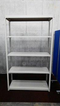 コクヨのW1240の中古ラックが2台入荷しました!!② 天地5段 耐荷重:段/150kg ボルトレスなので組立も簡単!  ※マテハン本舗の中古商品は、千葉県柏市に在庫がございます。