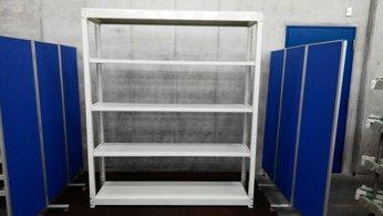 オカムラの中古・中量ラックが6台入荷しました!! 天地5段 耐荷重:段/300kg ボルトレスなので組立も簡単!  ※マテハン本舗の中古商品は、千葉県柏市に在庫がございます。