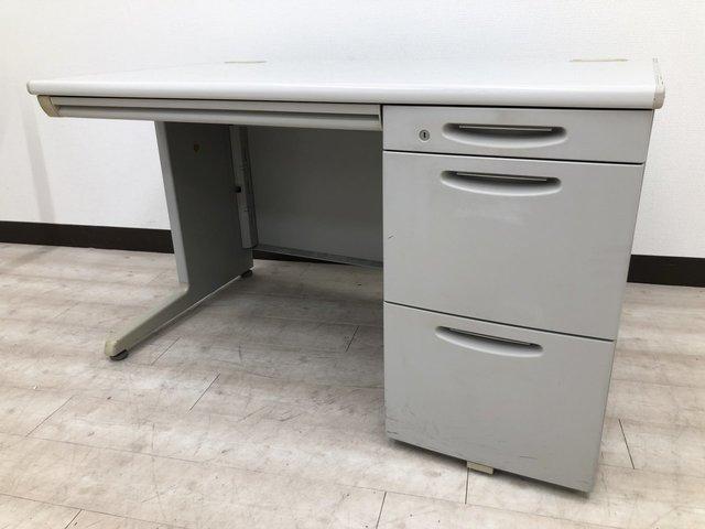 [定番]事務机、オフィスデスクといえば!代表的なデスクです!片袖机タイプ