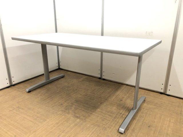 【4名様でも広々使える1500㎜サイズ】作業台にも使えるミーティングテーブル