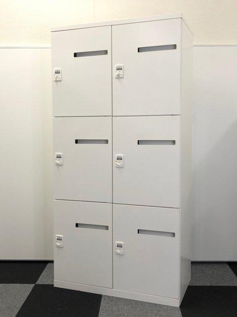 【新品価格約19万円!】フリーアドレスオフィスの必需品、メールロッカー!