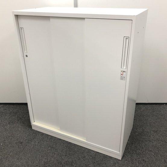 【少数入荷】収納物の確認がしやすい3枚引違書庫!人気のホワイト入荷です!