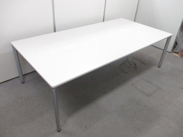 【2014年製造!】最近流行りのワークテーブルが待望入荷!■ホワイト色 ワークソート