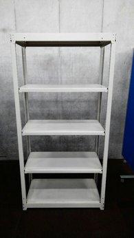 コクヨのH1800の中古ラックが1台入荷しました! 天地5段 耐荷重:段/150kg ボルトレスなので組立も簡単!! ※マテハン本舗の中古商品は、千葉県柏市に在庫がございます。