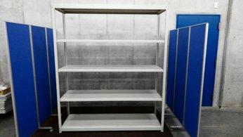 コクヨのW1800の中古ラックが2台入荷しました! 天地5段 耐荷重:段/150kg ボルトレスなので組立も簡単!!  ※マテハン本舗の中古商品は、千葉県柏市に在庫がございます。