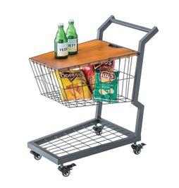 【新品】東谷 ユニーク! ショッピングカート型収納 サイドテーブル