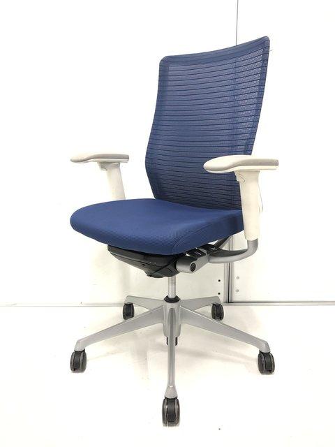 オカムラ コーラルチェア ブルー ロット入荷 ブルー色 状態良好品 高級チェア
