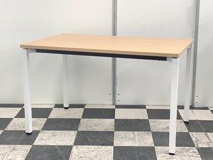 一番人気!ナチュラル木目のミーティングテーブル入荷!コクヨ ワークテーブル