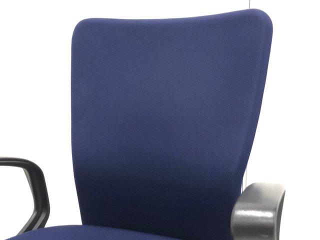 体全体を包み込む高機能クッション生地のハイバックチェア!リング肘タイプ!【J3】【3】★                         カロッツァ                                      中古