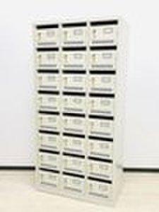 【大人数向け】扉付きシューズボックス 個人名を書ける名札付き
