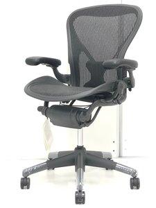 【新古品】【ロット入荷】チェアの王様 アーロンチェア Bタイプ ランバーサポート搭載[Aeron chair]