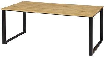 人気の古木調天板!|ワークテーブル|会議テーブル|頑丈な口の字脚テーブル!【オフィス家具】【新品】