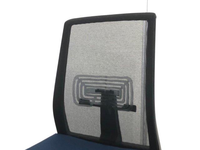 【¥14,800→¥5,980!】【有名海外メーカーをお安く!】流行のメッシュバックチェアをランバーサポート付きで!ヘイワース製                         ベリー                                      中古