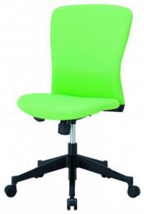 【新品も激安!】ミドルバック オフィスチェア HIC-100■ライムグリーン■【OAチェア】