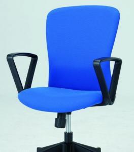 【新品も激安!】ミドルバック オフィスチェア HIC-100■ブルー■【OAチェア】