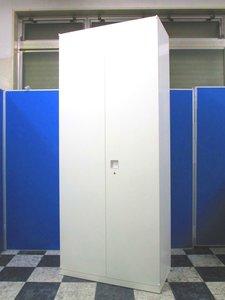 【A4ファイル6段の大容量】人気のホワイトキャビネットが入荷!オカムラ レクトライン
