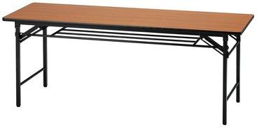 【折り畳みテーブルW1800/D600】ソフトエッジタイプ