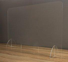 【飛沫感染防止パネル】飛沫防止パネル!|アクリルパーテーション|アクリル製 |W600mm |