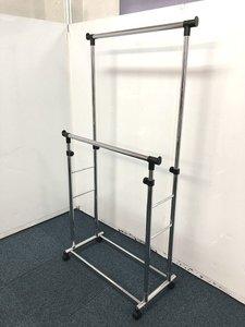 【2列で使用でき高さ調整可能なコートハンガーの入荷です!!】