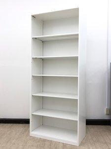 【元スライド書庫の為特別価格!】【10%オフ】開放的なオープン書庫入荷!オカムラ製 レクトライン