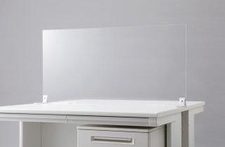 【飛沫感染防止パネル】|アクリルパーテーション|アクリル製 |W1000mm |卓上 |衝立 | 仕切り板 |コロナウイルス対策に!【オフィス家具】