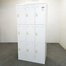【40%オフ】【4台入荷】人気のホワイトロッカー入荷!中古 ロッカー 更衣室 オフィス
