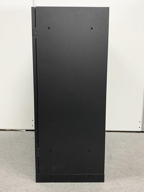 【鍵付】人気のブラックカラー単体書庫2台入荷!オフィス空間に映えるシンプルなデザイン! イトーキ/eSキャビネット/ブラック                         エス                                      中古