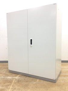【1台限定価格!】プラス製 LINX(リンクス)ホワイト色 両開き(観音開き)書庫