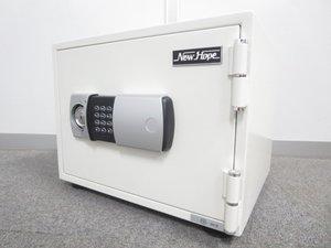 【ボタン操作で使いやすい!】■耐火金庫(テンキー+シリンダー錠) PHDI-30E【店頭展示品】【新品お取り寄せ可】