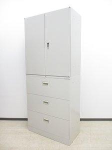 【在庫入替特価!】オフィスの定番カラー書庫入荷!オカムラ/42/ニューグレー