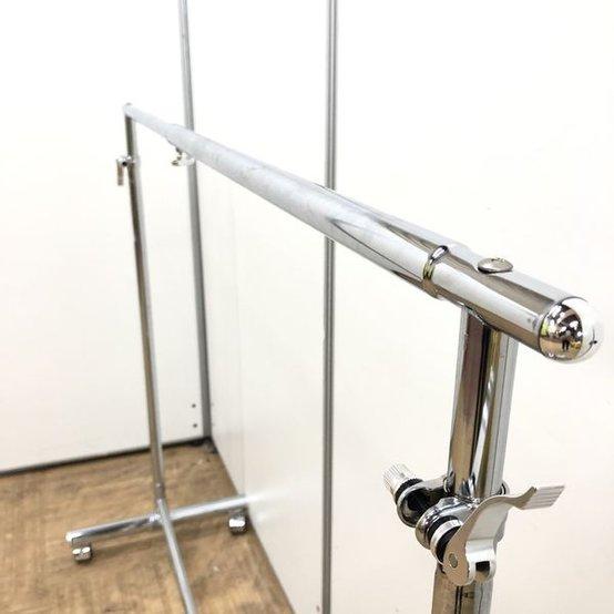【オフィス小物】あったら便利なコートハンガー!!キャスター付き・高さ調整可能タイプ                         その他シリーズ                                     中古