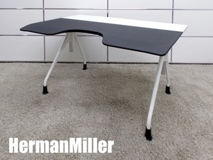 【展示品】HermanMiller/ハーマンミラー エンベロップデスク ワーキングデスク ホワイトxホワイト hhstyle取り扱い