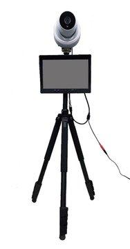 【新型コロナウィルス対策商品】体表面温度モニタリングシステム(NS-P7220TP)サーマルカメラ【オフィス家具】