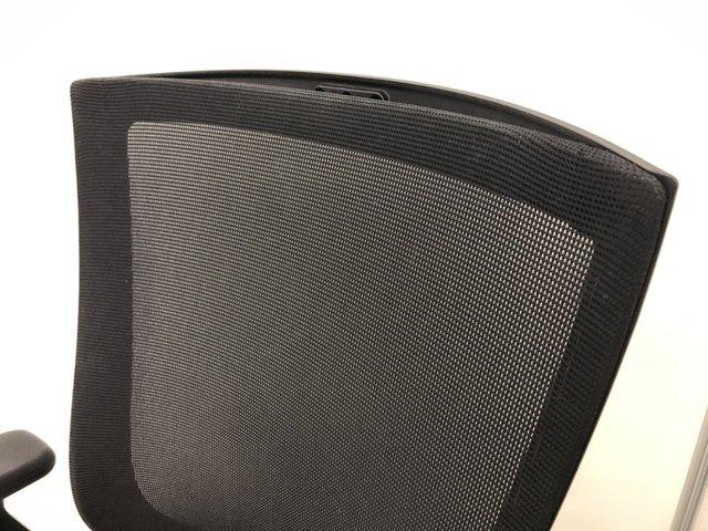 【メッシュチェア】【大量在庫】【首都圏一律配送料】ブラックのメッシュチェアが超大量入荷致しました!!最大5000脚までご用意します!                         T500                                      中古