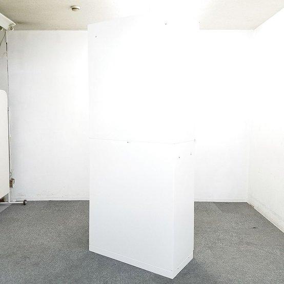 大人気のホワイト書庫が入荷いたしました☆入れ替えや追加にいかがでしょうか☆ オフィス 家具                         シンライン                                      中古