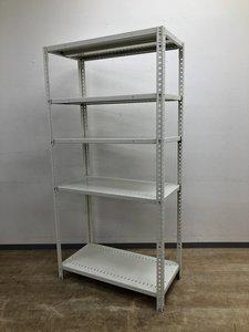 【オカムラ製】W900・H1800天地5段 耐荷重:段/150kg ボルトレスなので組立も簡単!