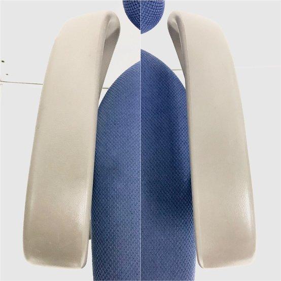 大人気/定番/品質良好/低価格/デザインアーム(固定肘)  ◆Okamura/オカムラ ◆SX/エスエックス ※本体カラー:ブルー                         SX                                      中古