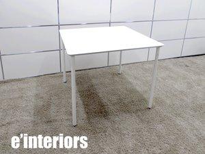 e interiors/インテリアズ Tee テーブル スクエア型 カフェテーブル