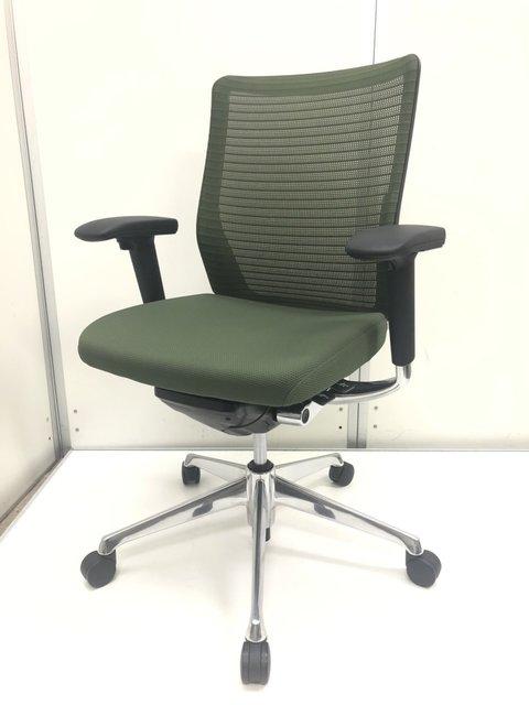高級チェア オフィスチェア 椅子 執務 自宅 テレワーク 在宅 稼働肘 売れ筋 おとく                         コーラルメッシュ                                      中古