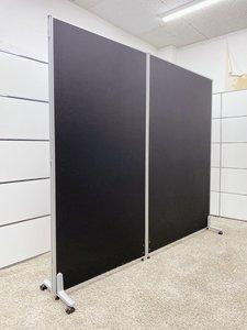 定番ブラックカラーのパーテションを入荷!■展示品商品【在庫入替12】