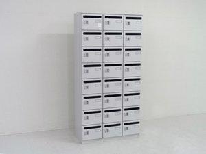 【大量在庫】24か所収納可能なパーソナルロッカー!シューズボックスや貴重品入れにもオススメ!!