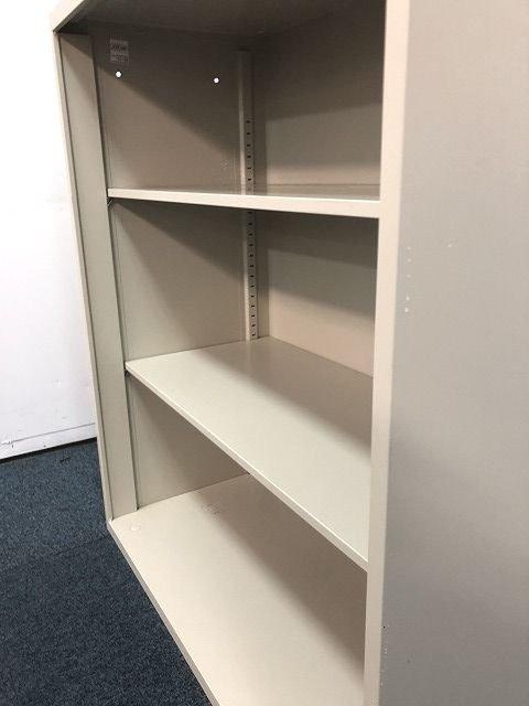 オフィスに馴染むニューグレーカラー!!【オープン書庫の入荷です!!】                         その他シリーズ                                     中古