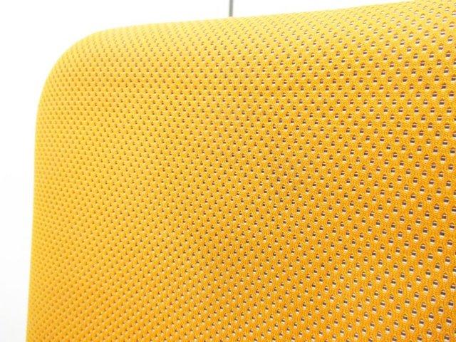 【人間工学に基づいた快適シーティング!】■カロッツアチェア(Carrozza) オレンジ ハイバック【座面クリーニング済み】                         カロッツァ                                      中古