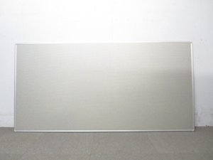 【マグネットとピンが使える!】■プラス製 掲示板ボード W1800mm【壁掛用】