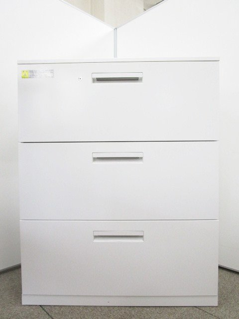 内田洋行製の3段ラテラル書庫が入荷しました❕                         HS                                     中古