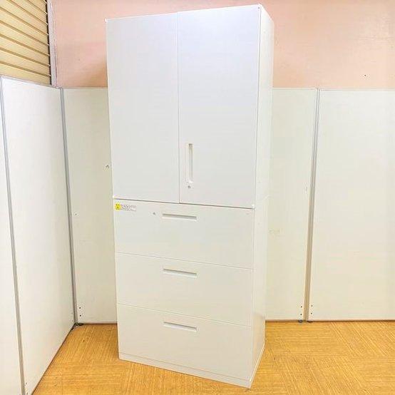 【定番商品】【大容量の書庫セット】【人気のホワイトカラーでオフィスを明るく!】【ウチダ/HS】