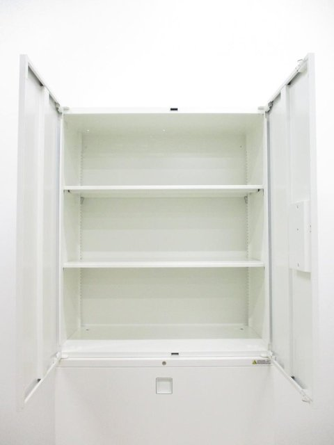 【定番の大容量書庫】 2セット以上でも、倉庫、他店舗から在庫お探しします! オカムラ/レクトライン/ホワイト                         レクトライン                                      中古