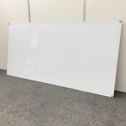 【幅広タイプ入荷!】■壁掛用ホワイトボード W1800mm【マーカー受け無し】